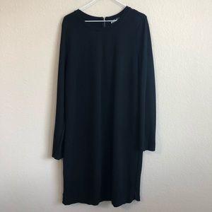 Lord & Taylor Long Sleeve Black Dress